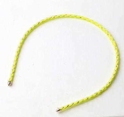 Faux-leather thin headband