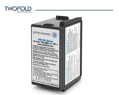 Pitney Bowes DM100 to DM220 Blue Ink
