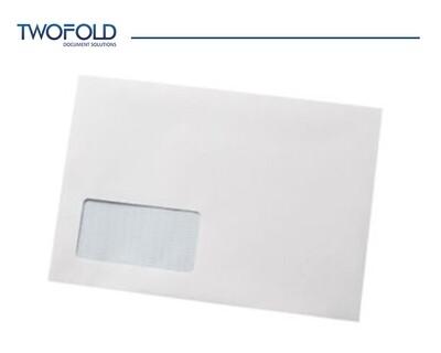 C5 White Low Window Machine Envelopes (1000)
