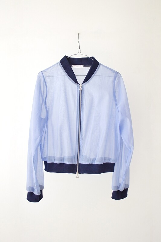 ORGANZA BOMBER JACKET - Where I Go You Follow Me Collection