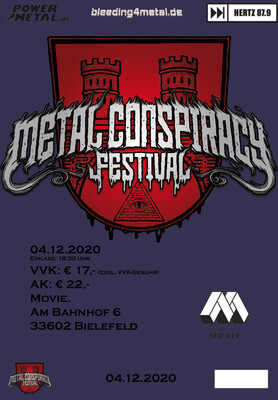 Metal Conspiracy Festival, Tagesticket, Freitag, 04.12.2020