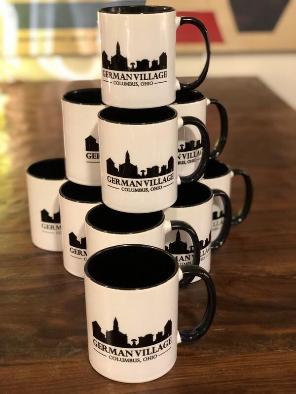 German Village 10 oz Coffee Mug