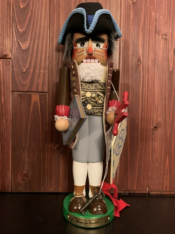 Benjamin Franklin Nutcracker
