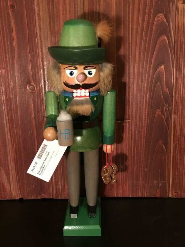 Bavarian with Beer Stein Nutcracker