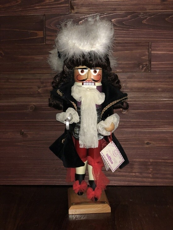 Captain Hook Nutcracker