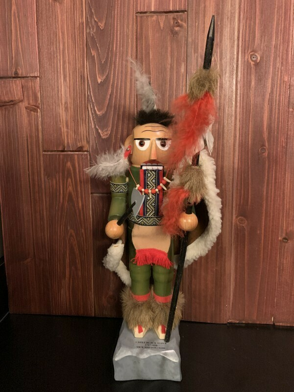Chief Black Hawk Nutcracker