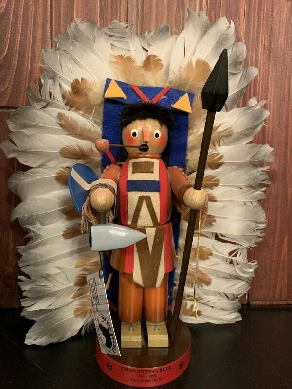 Chief Sitting Bull Smoker