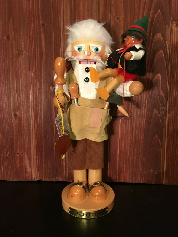 Geppetto & Pinnochio Nutcracker