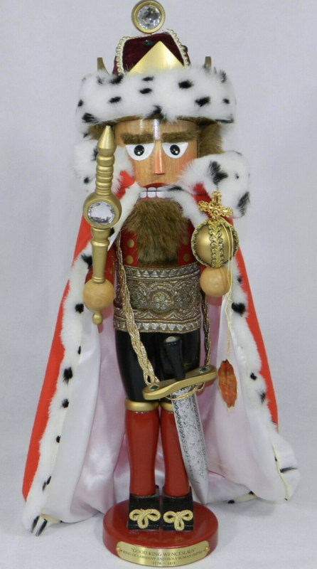 King Wenceslaus Nutcracker