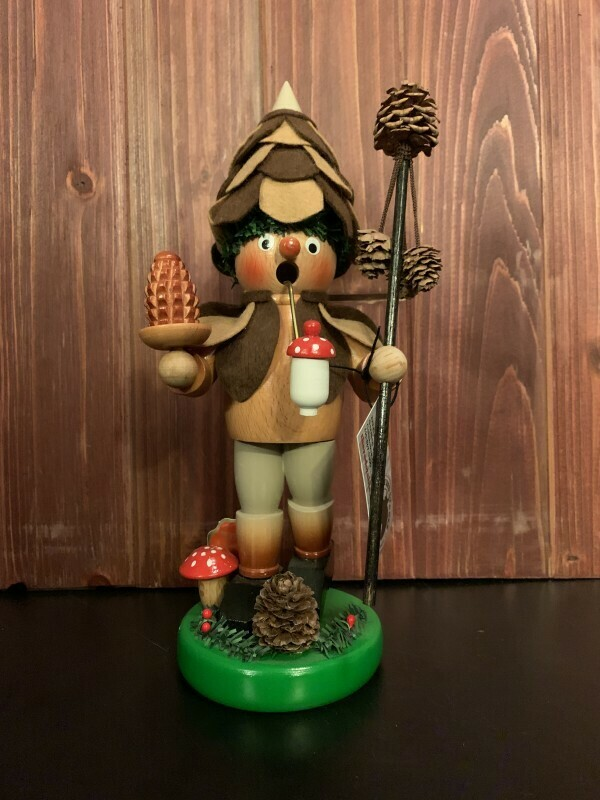 Pine Cone Man Smoker