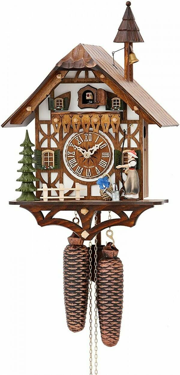 8-Day Bell Ringer Chalet Cuckoo Clock