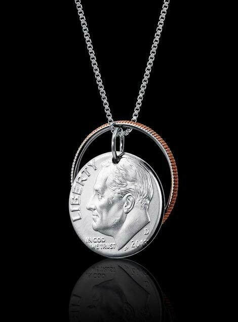 Reunited Dime Necklace