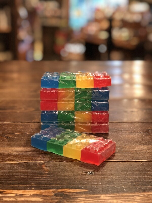 Glycerin Brick Shaped Soap