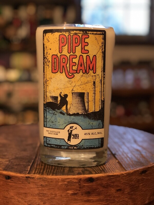 Pipe Dream Bottle Candle