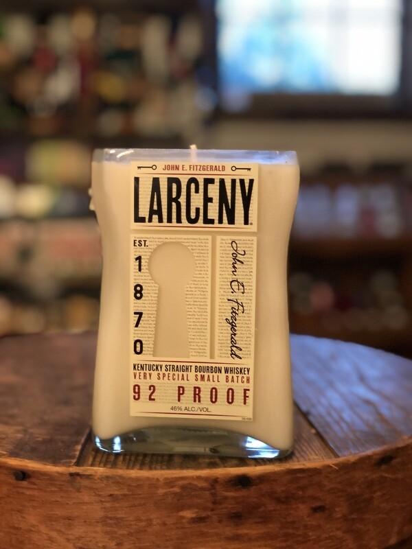 Larceny Recycled Bottle Candle
