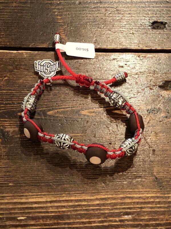 OSU Macrame Bracelets