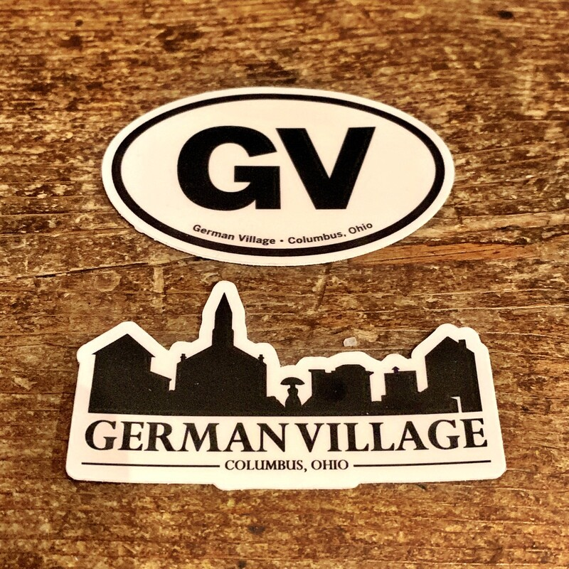 German Village Stickers
