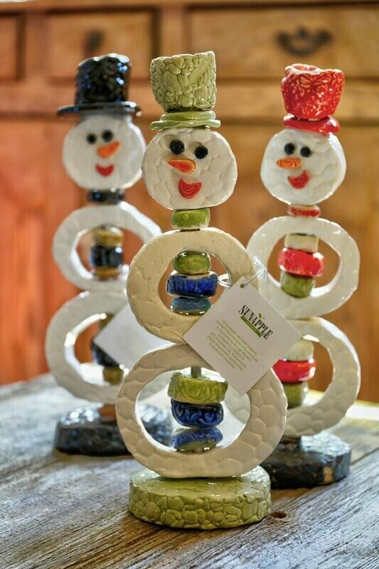 Snowman Sculpture
