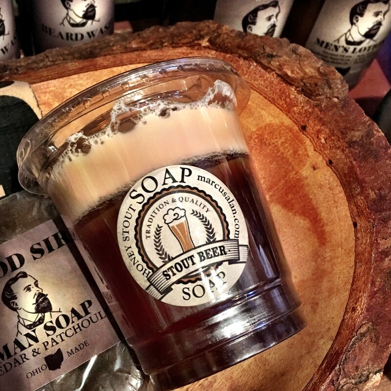 Pale Ale Stout- CUP-O-BEER Soap
