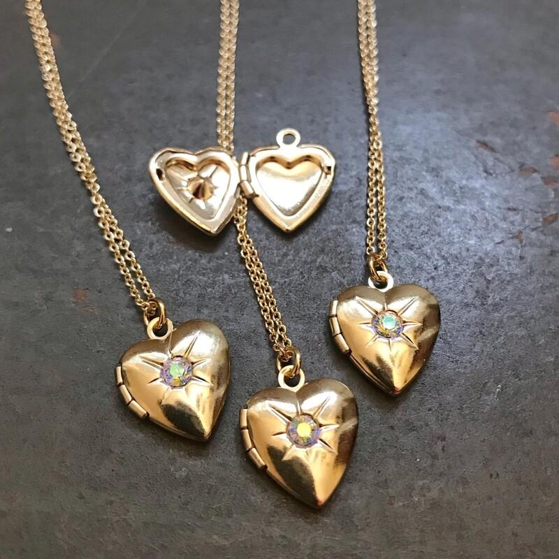 Dainty Heart Locket