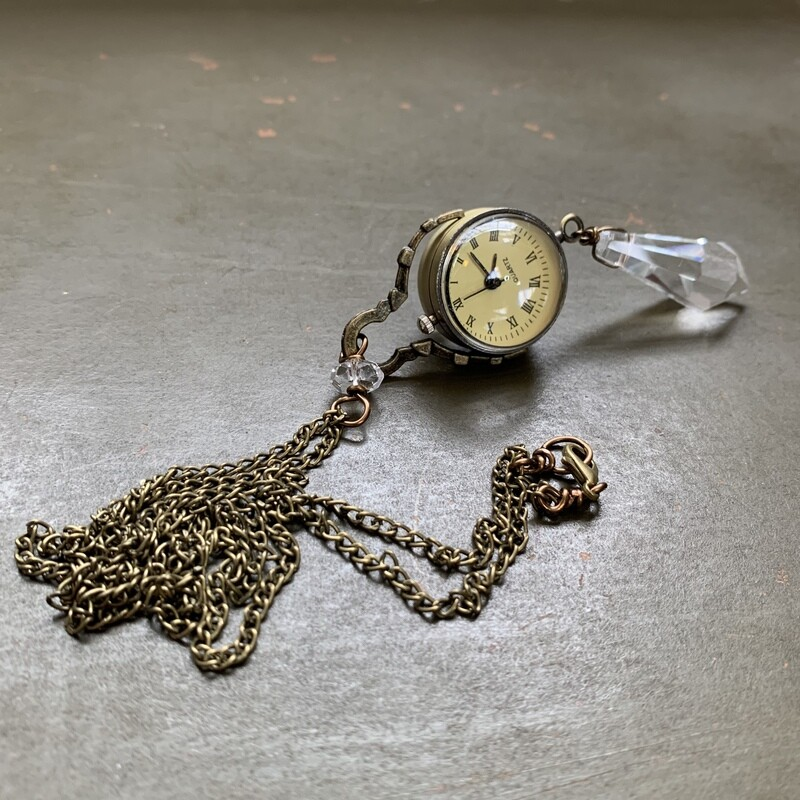 Spherical Watch Necklace