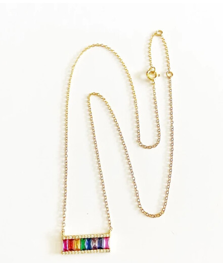 Pride Bar Necklace