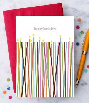 Happy Birthday Greeting Card II