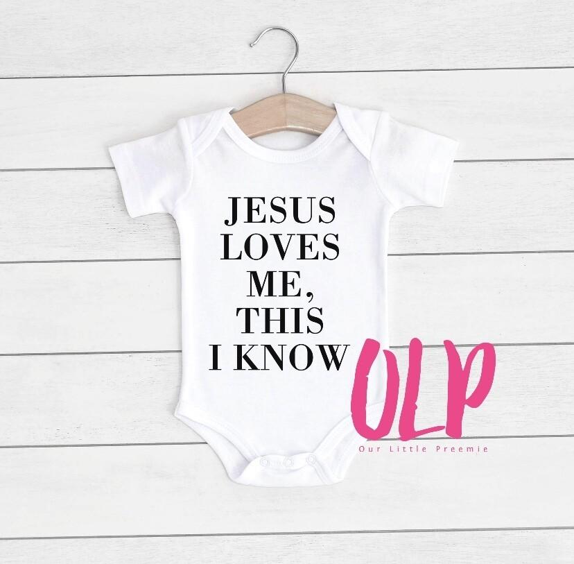 Jesus love me this I know