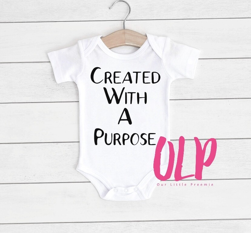created with a purpose