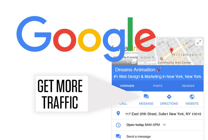 We will create & optimize Google My Business for your company