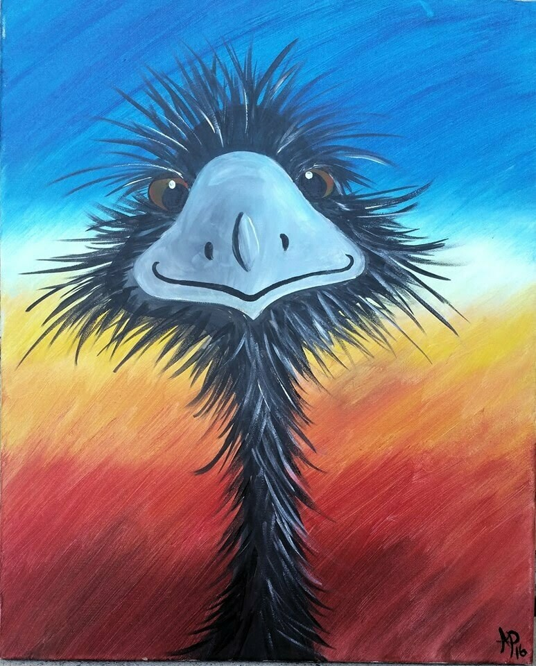 Live paint pARTy! - Emu - Wednesday 3 June - 3.30pm