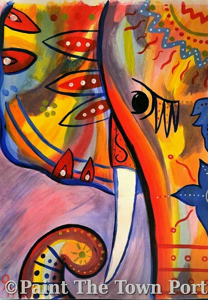 Live paint pARTy! - Elephant - Monday 1 June - 1.30pm