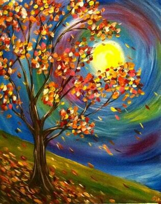 Live paint pARTy! - Autumn - Friday 29 May 7.30pm