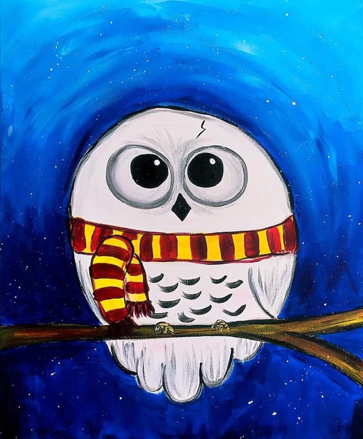 Live paint pARTy! - Hedwig - Wednesday 24 June - 3.30pm