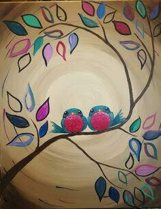 Live paint pARTy! - Love Birds - Wednesday 17 June - 3.30pm