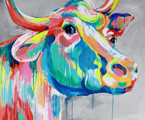Live paint pARTy! - Colourful Cow - Friday 5 June - 7.30pm