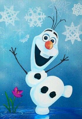 Live paint pARTy! - Olaf - Wednesday 10 June - 3.30pm