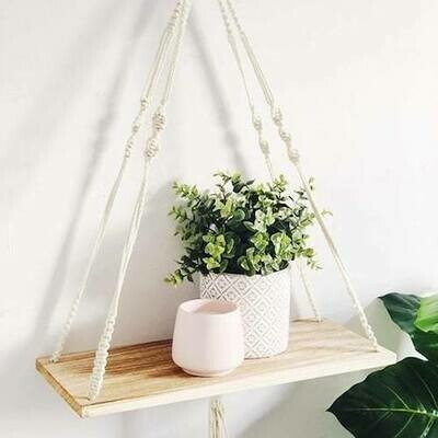 Macrame shelf workshop (dates TBA)