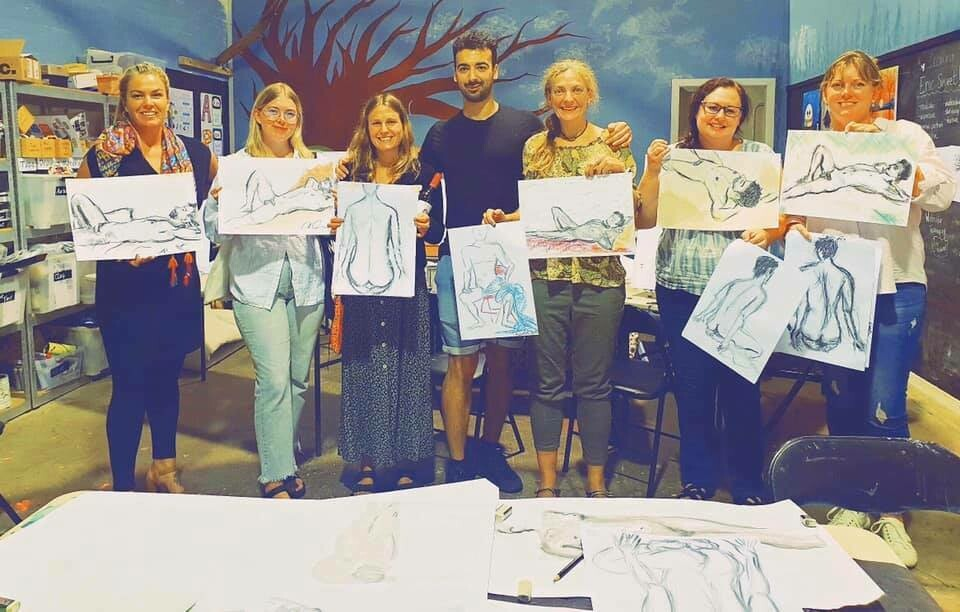 Life Drawing classes - single lesson or 4 week program! Dates TBA