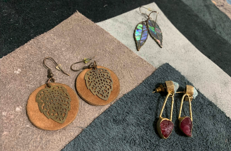 Leather & metal jewellery workshop - Wednesday 19 August, 1-3pm