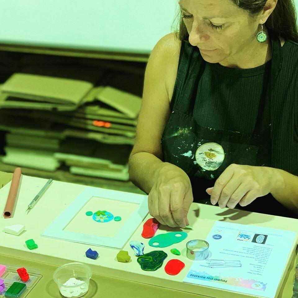 Polymer clay jewellery workshop - Wednesday 8 July 10am-12pm