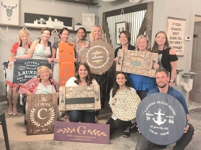 DIY Wood sign Workshop (dates TBA)