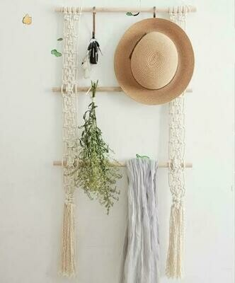 Macrame wall organiser workshop (dates TBA)