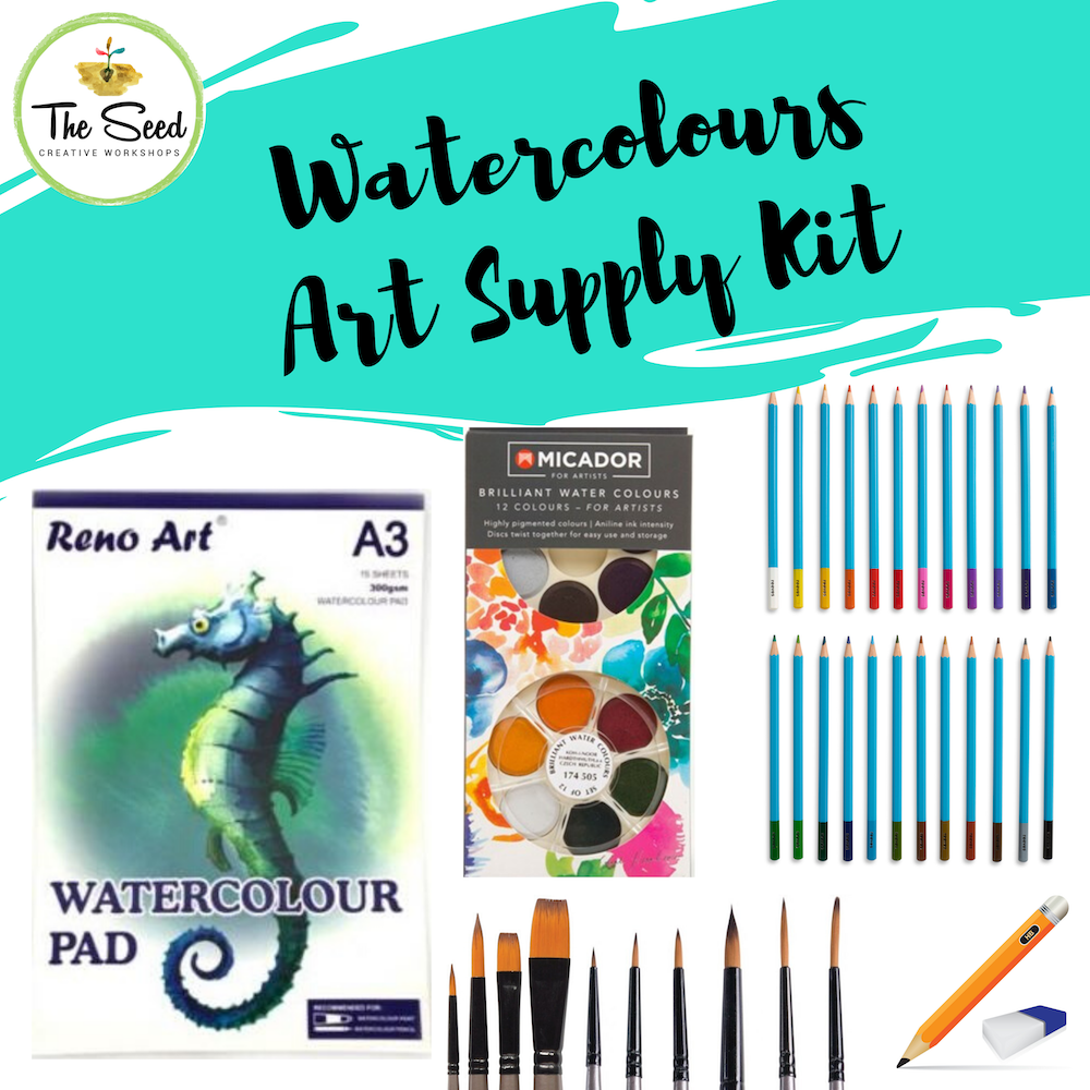 Watercolour Art Supply Kit