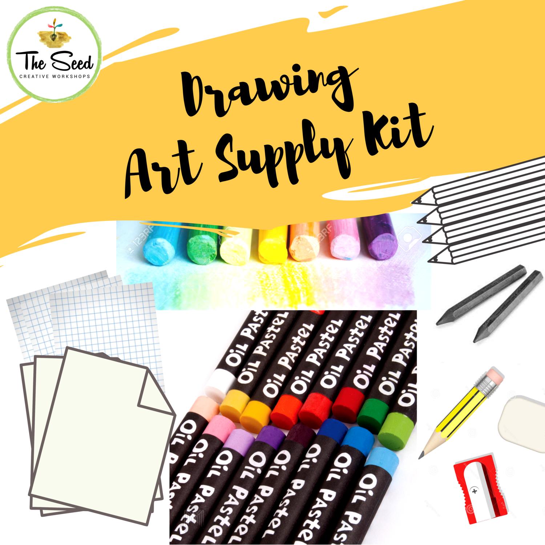 Drawing Art Supply Kit