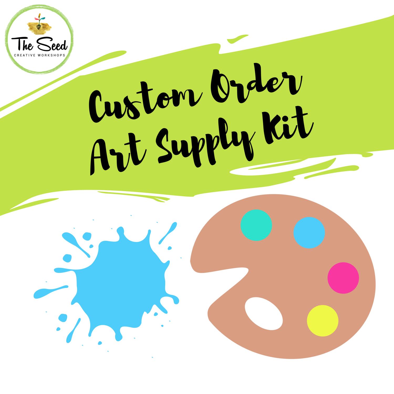 Custom Art Supply Kit for Lucinda