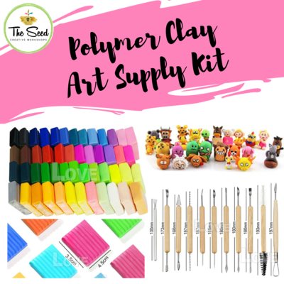 Polymer Clay Art Supply Kit