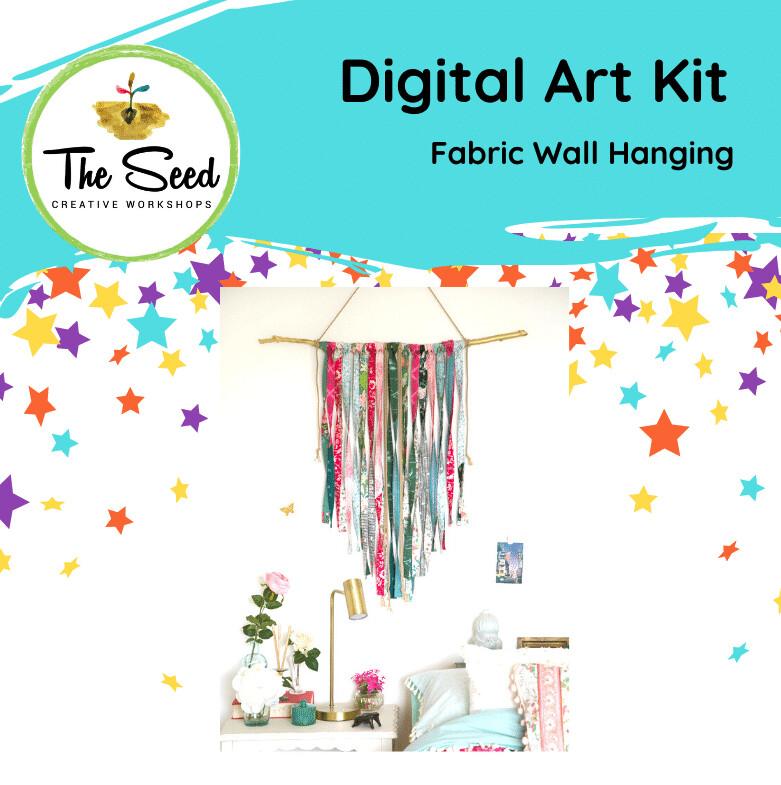 Fabric wall hanging - Kids/Teens digital art class
