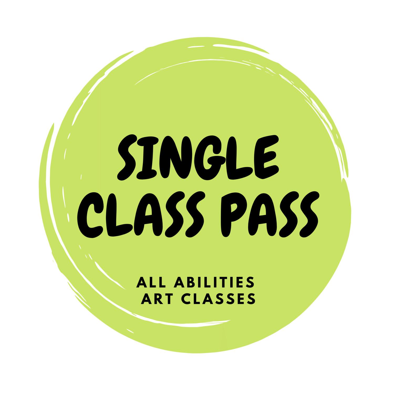 All Abilities Art Classes - Single class pass