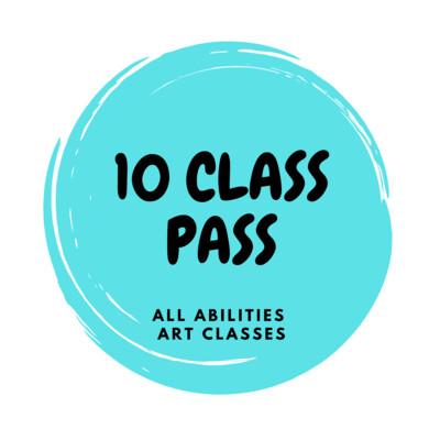 All Abilities Art Classes - 10 class pass